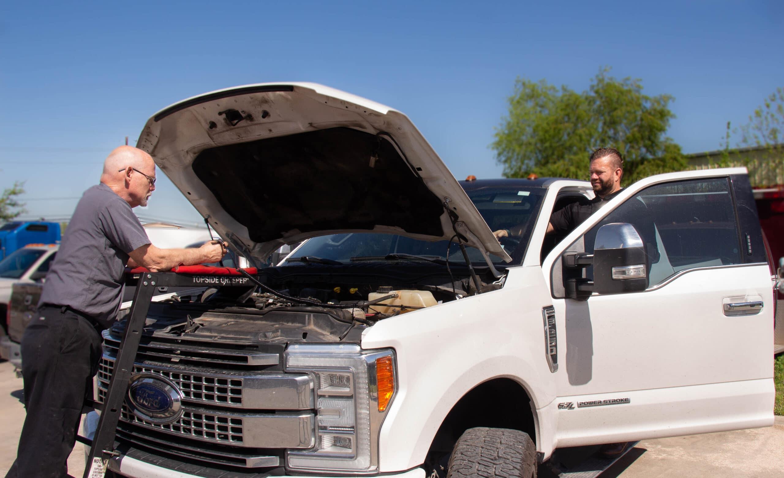 we provide diesel repair services